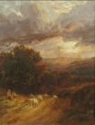 Sheep-at-Dusk-George-Vicat-Cole-1833–1893-Bob-09