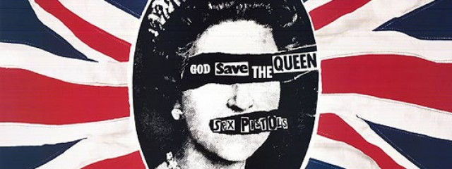 God Save the Queen - Sex Pistols Artwork