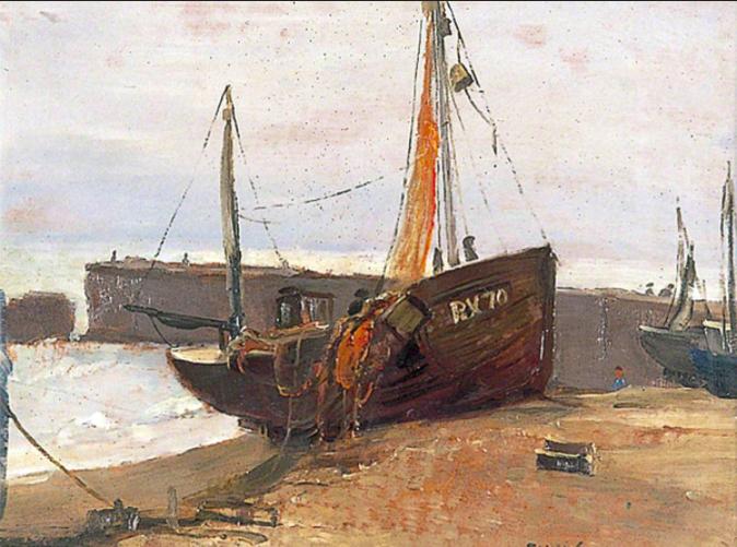 Hastings-Trawler-John-Vicat-Cole-1903–1975-Karam-07